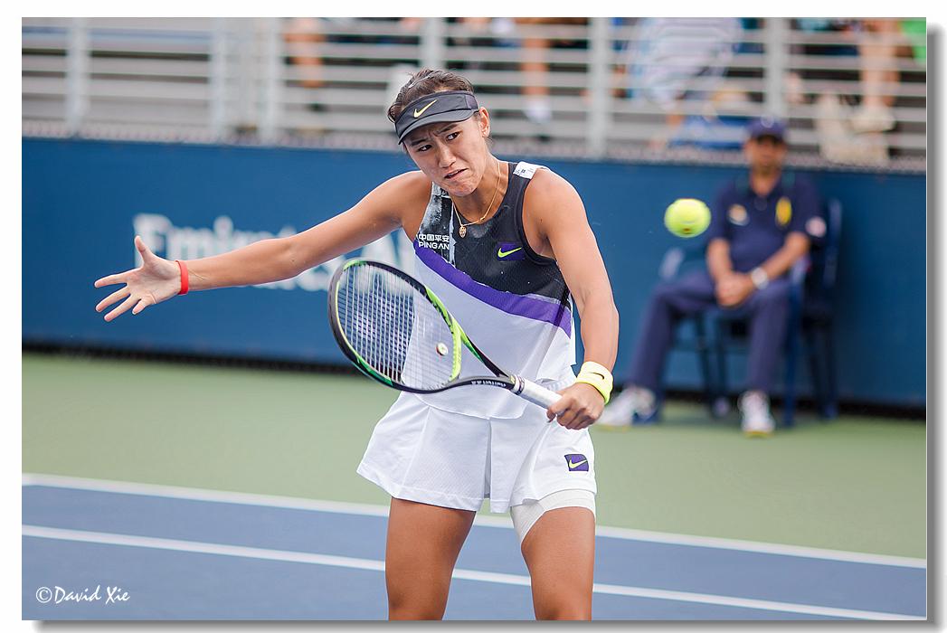 2019美国网球公开赛资格赛中国选手-王曦雨(xiyu wang)_图1-4