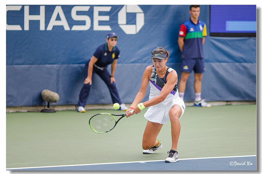2019美国网球公开赛资格赛中国选手-王曦雨(xiyu wang)_图1-6