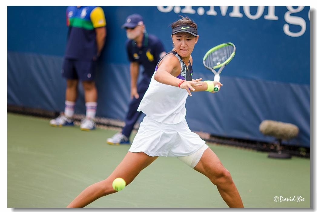 2019美国网球公开赛资格赛中国选手-王曦雨(xiyu wang)_图1-9