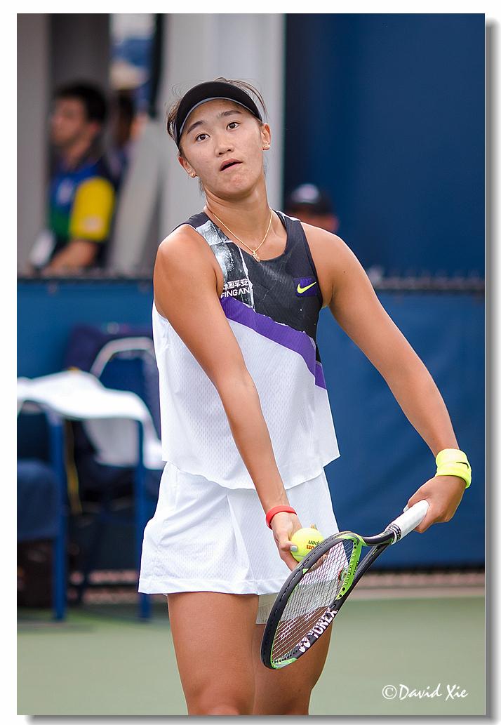 2019美国网球公开赛资格赛中国选手-王曦雨(xiyu wang)_图1-12