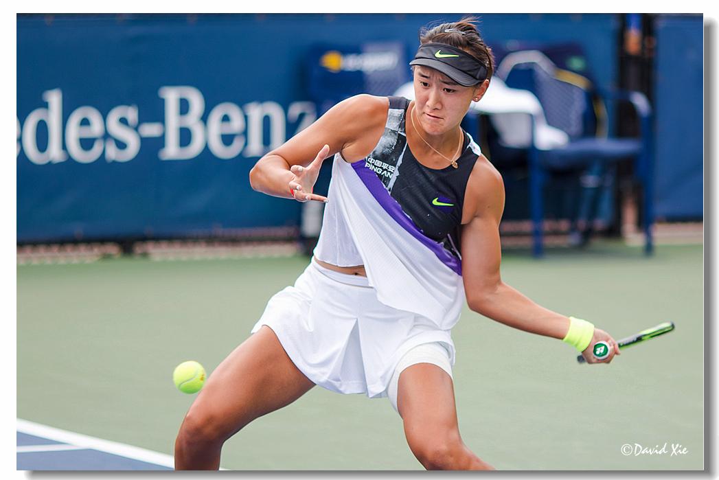 2019美国网球公开赛资格赛中国选手-王曦雨(xiyu wang)_图1-14