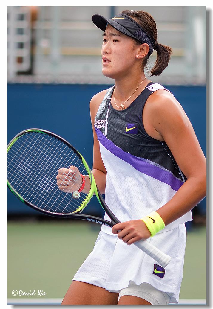 2019美国网球公开赛资格赛中国选手-王曦雨(xiyu wang)_图1-15