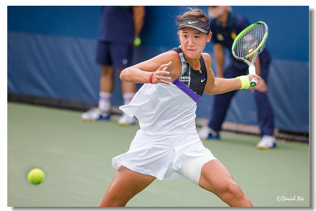 2019美国网球公开赛资格赛中国选手-王曦雨(xiyu wang)_图1-17