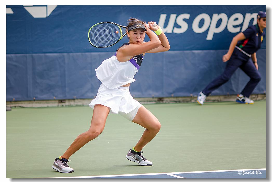2019美国网球公开赛资格赛中国选手-王曦雨(xiyu wang)_图1-19
