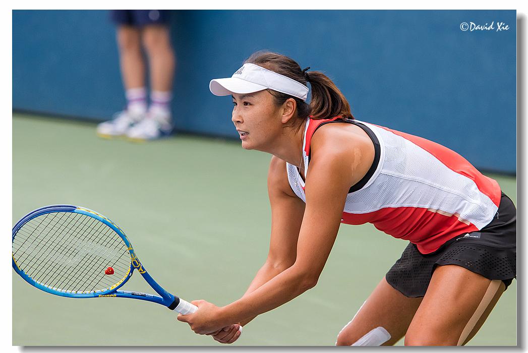 2019美国网球公开赛资格赛中国选手-彭帅(Shuai Peng)_图1-1