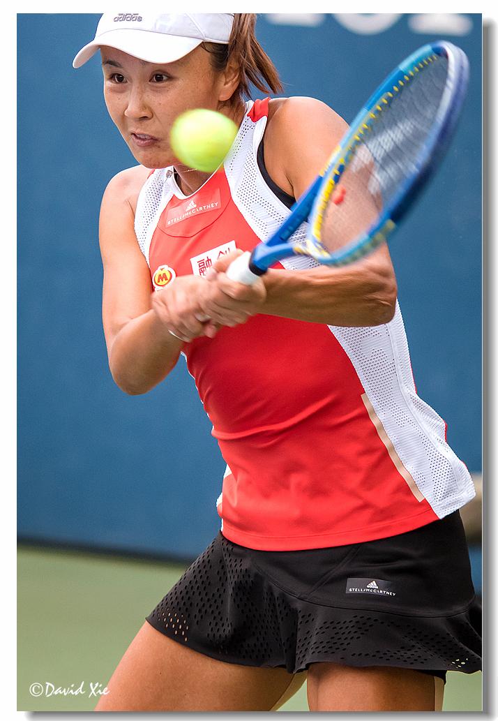 2019美国网球公开赛资格赛中国选手-彭帅(Shuai Peng)_图1-2