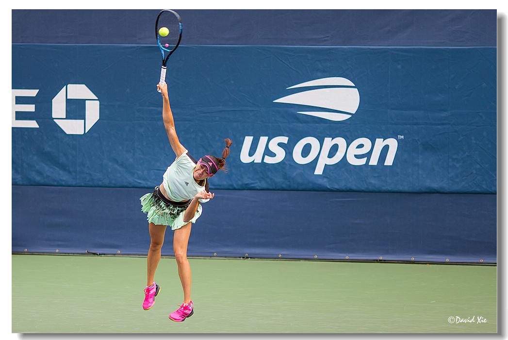 2019美国网球公开赛资格赛中国选手-徐诗霖(shilin xu)_图1-3