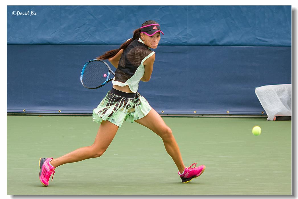 2019美国网球公开赛资格赛中国选手-徐诗霖(shilin xu)_图1-4