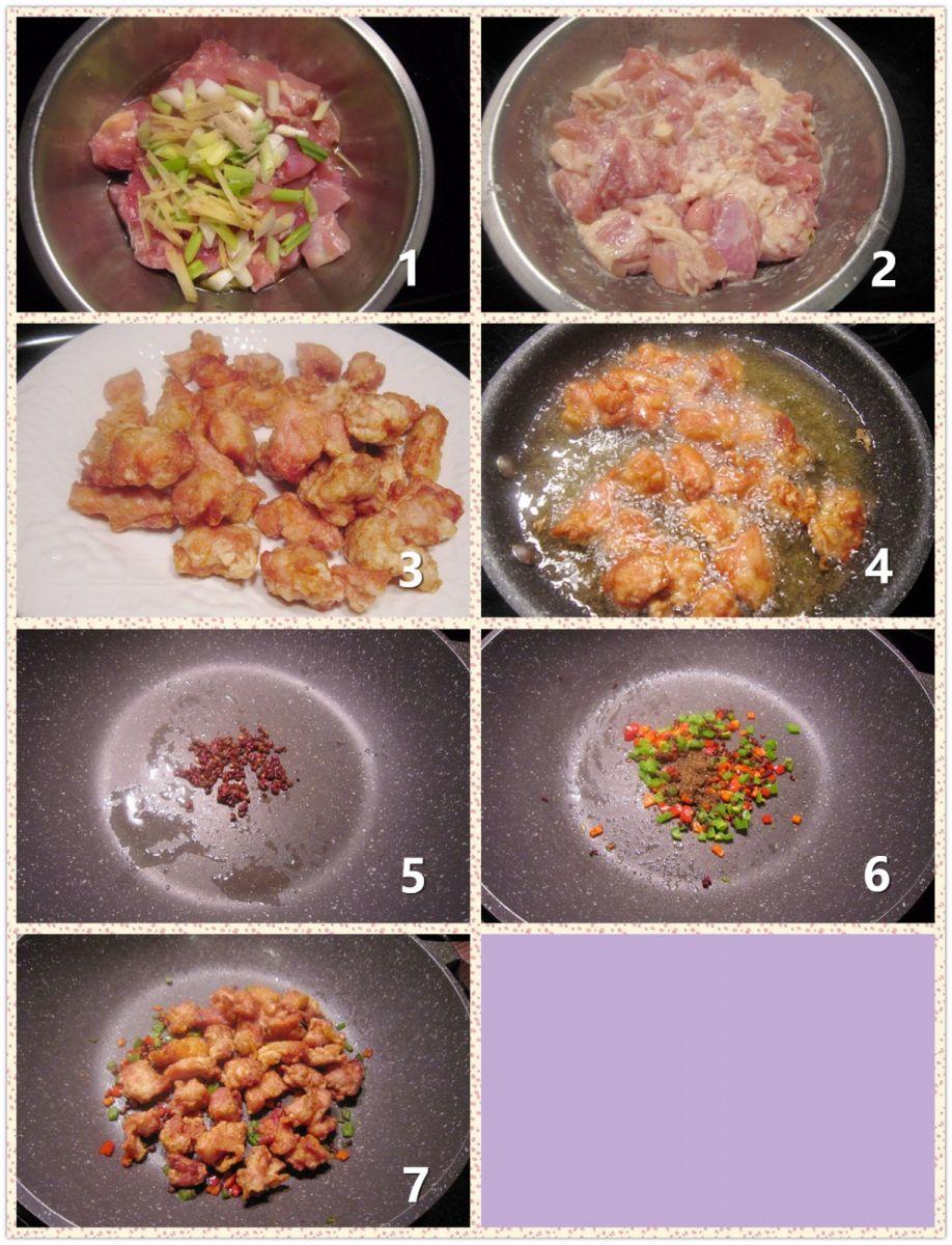 椒麻葱香鸡块_图1-2
