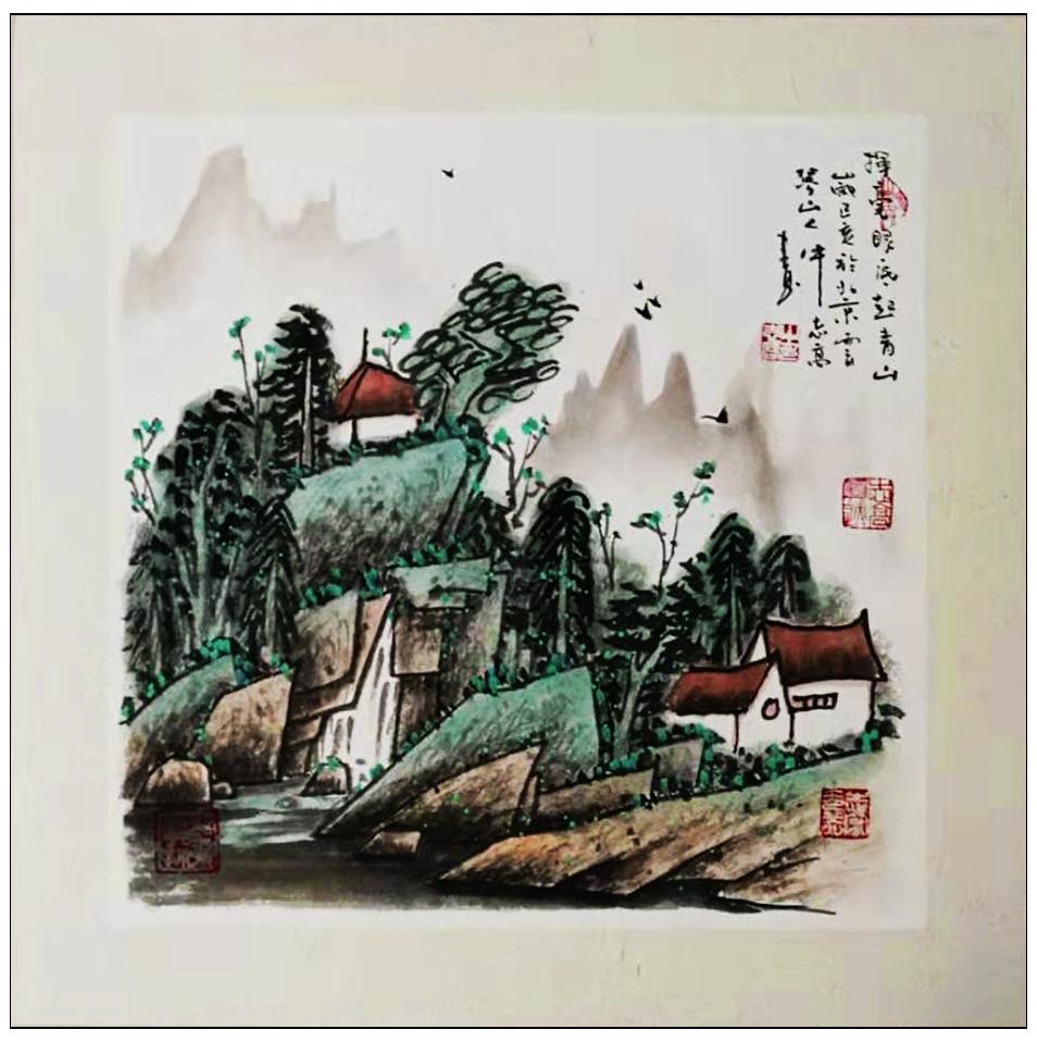 牛志高山水画----2019_图1-9