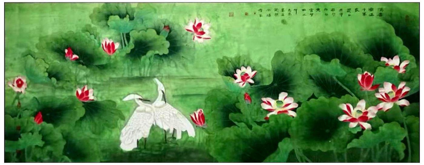 牛志高花鸟画---2019.9.1_图1-1