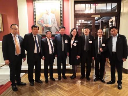 中美企业家座谈会在美国哈佛俱乐部成功举行 ..._图1-5
