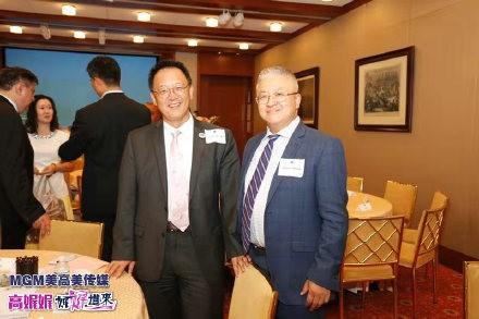 中美企业家座谈会在美国哈佛俱乐部成功举行 ..._图1-21