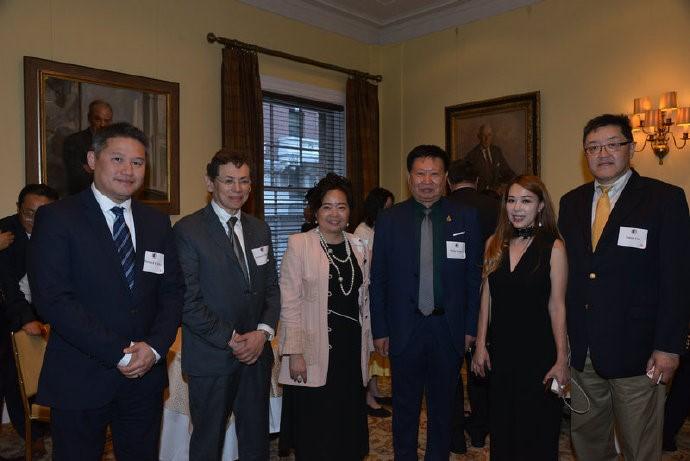 中美企业家座谈会在美国哈佛俱乐部成功举行 ..._图1-27