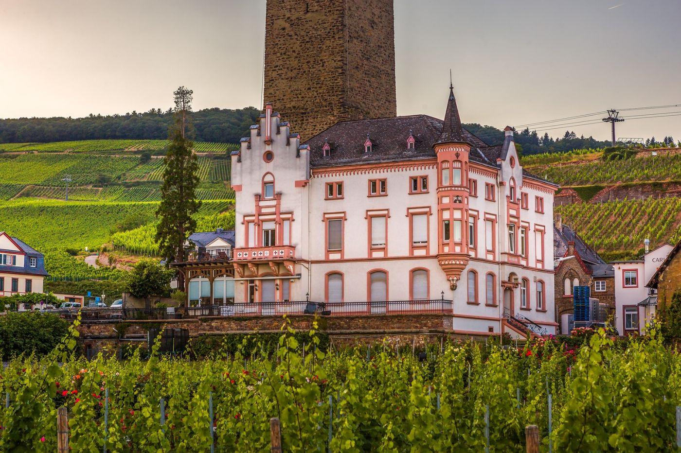 德国吕德斯海姆(Rudesheim),莱茵河畔的小镇_图1-34
