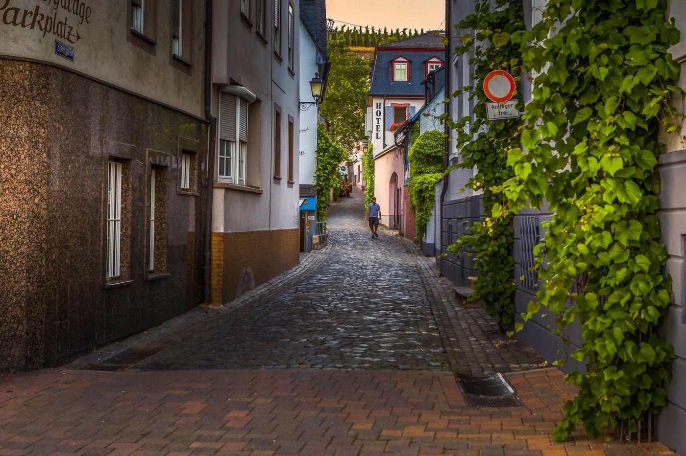 德国吕德斯海姆(Rudesheim),莱茵河畔的小镇_图1-31
