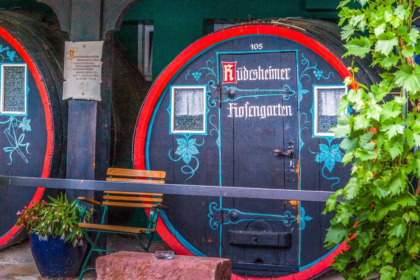 德国吕德斯海姆(Rudesheim),莱茵河畔的小镇_图1-27