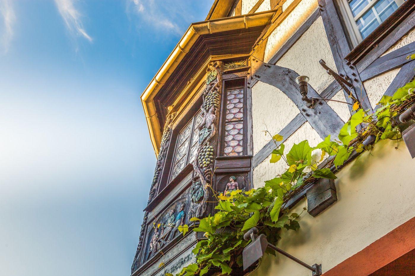 德国吕德斯海姆(Rudesheim),莱茵河畔的小镇_图1-25