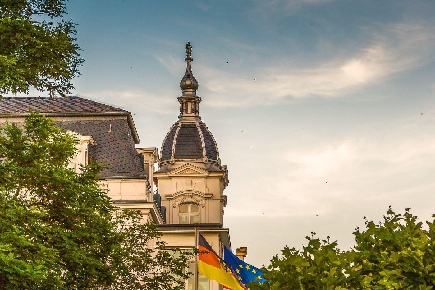 德国吕德斯海姆(Rudesheim),莱茵河畔的小镇_图1-23