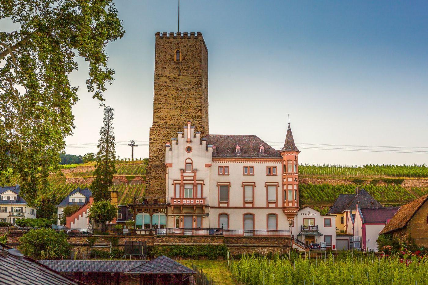 德国吕德斯海姆(Rudesheim),莱茵河畔的小镇_图1-22