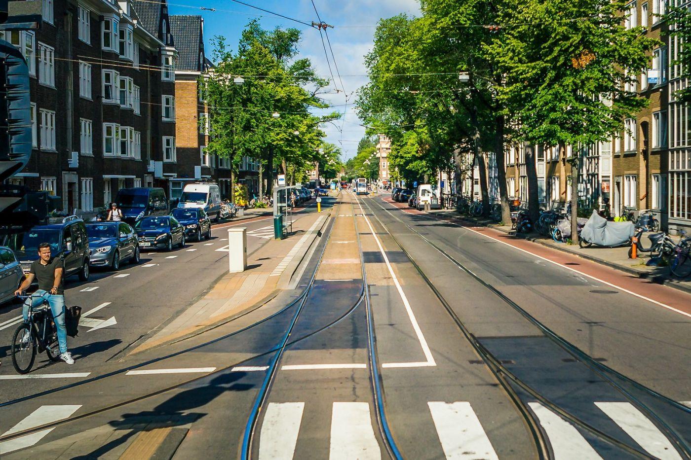 荷兰阿姆斯特丹,穿梭的自行车_图1-34