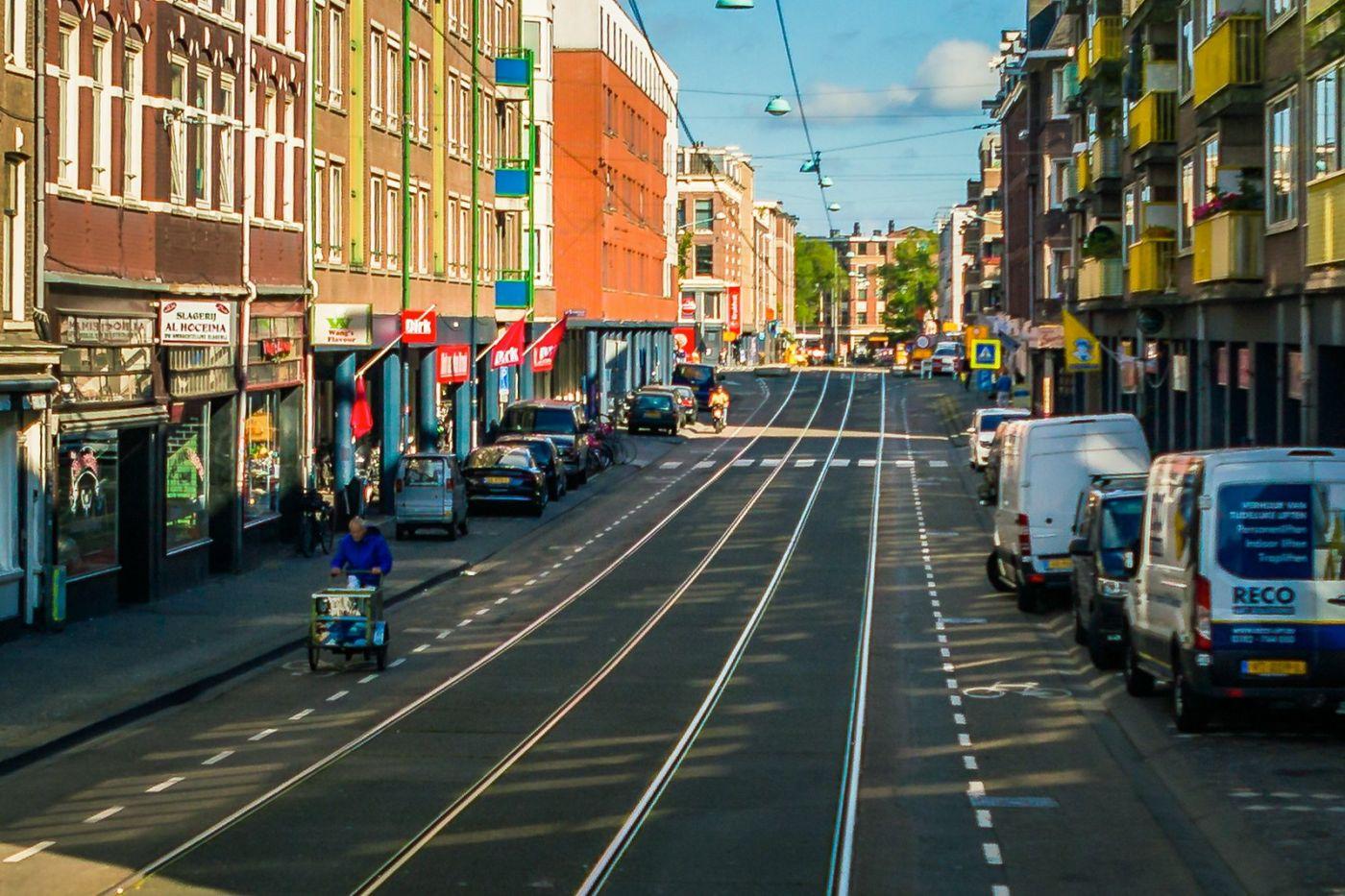 荷兰阿姆斯特丹,穿梭的自行车_图1-35