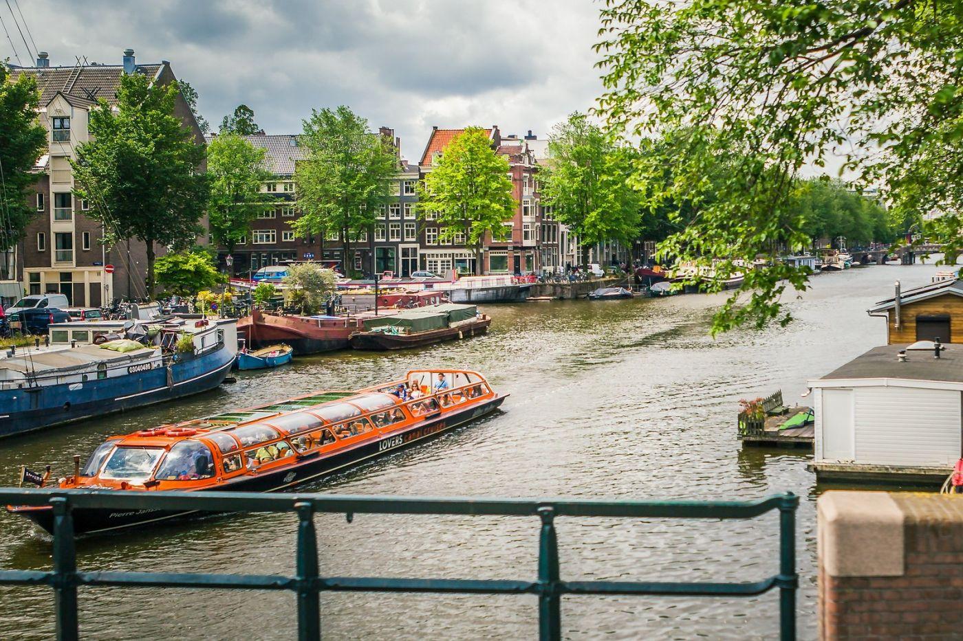 荷兰阿姆斯特丹,穿梭的自行车_图1-33