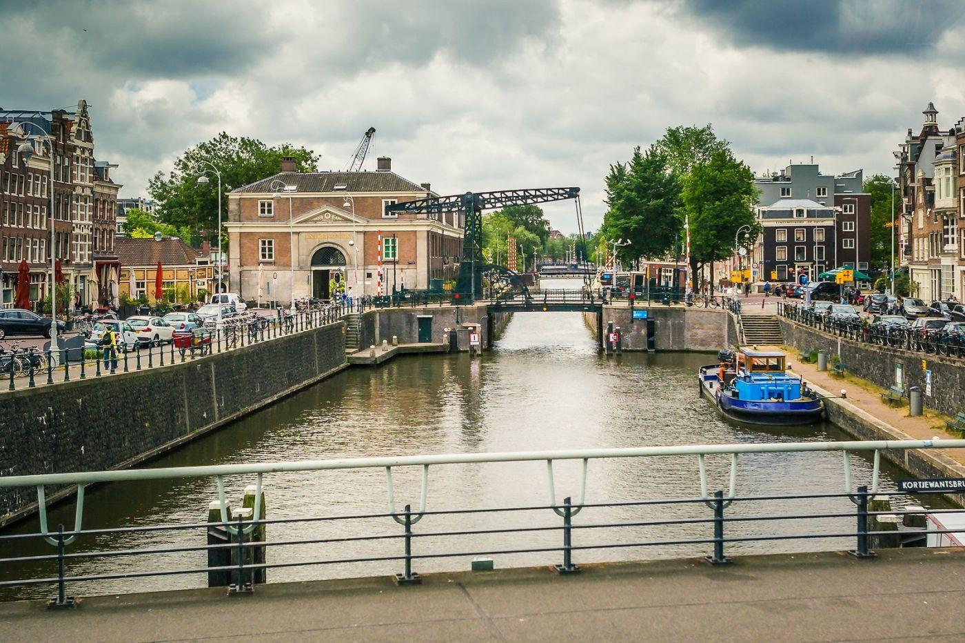 荷兰阿姆斯特丹,穿梭的自行车_图1-29