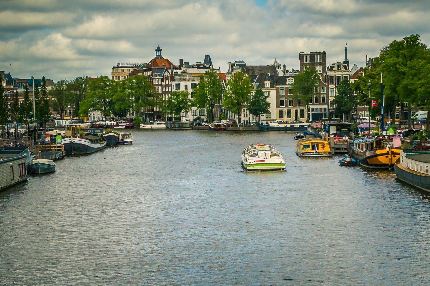 荷兰阿姆斯特丹,穿梭的自行车_图1-26