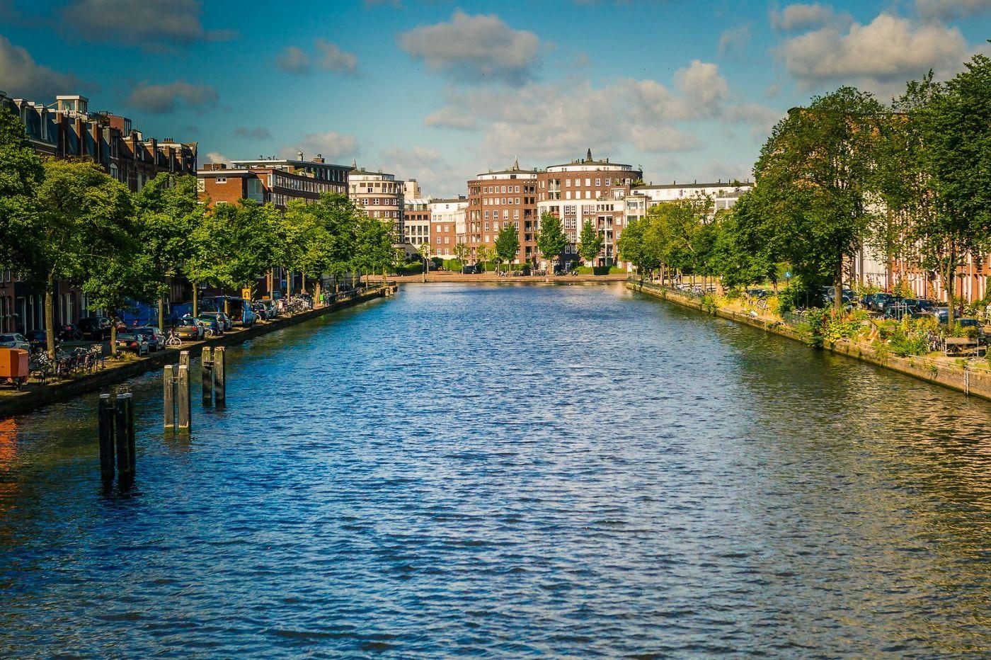 荷兰阿姆斯特丹,穿梭的自行车_图1-27