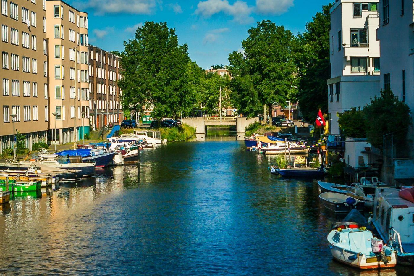 荷兰阿姆斯特丹,穿梭的自行车_图1-21