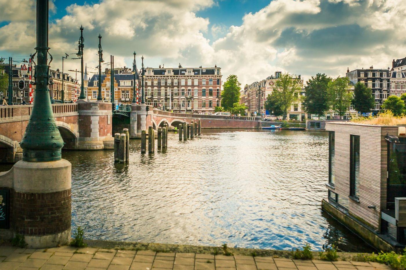 荷兰阿姆斯特丹,穿梭的自行车_图1-20