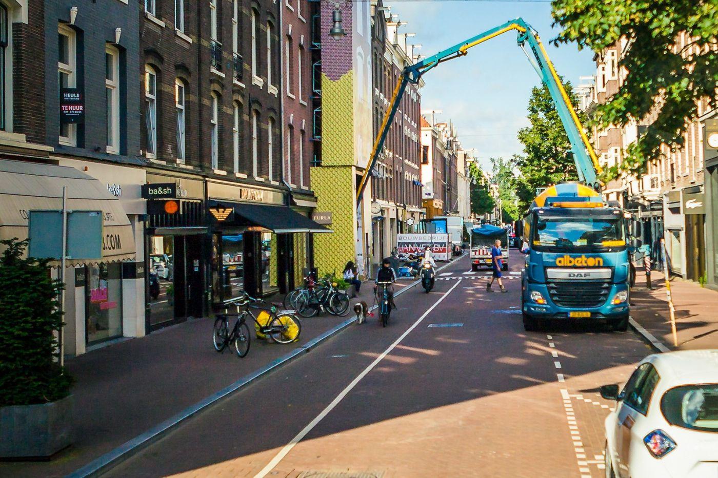 荷兰阿姆斯特丹,穿梭的自行车_图1-18
