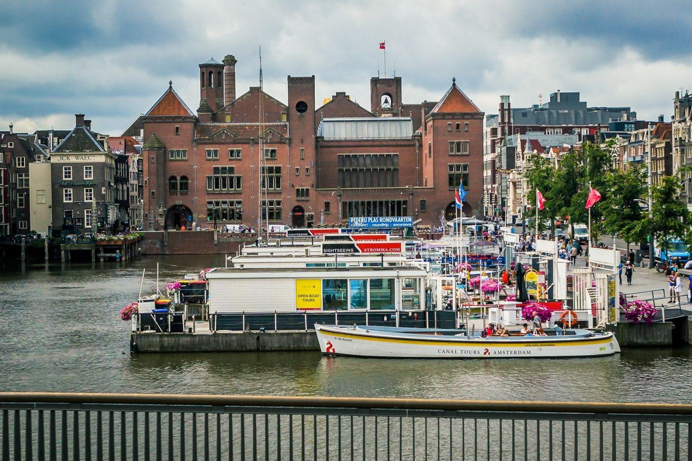 荷兰阿姆斯特丹,穿梭的自行车_图1-14