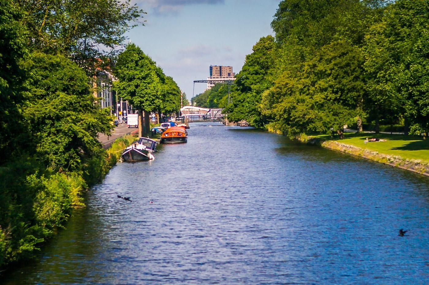 荷兰阿姆斯特丹,穿梭的自行车_图1-12