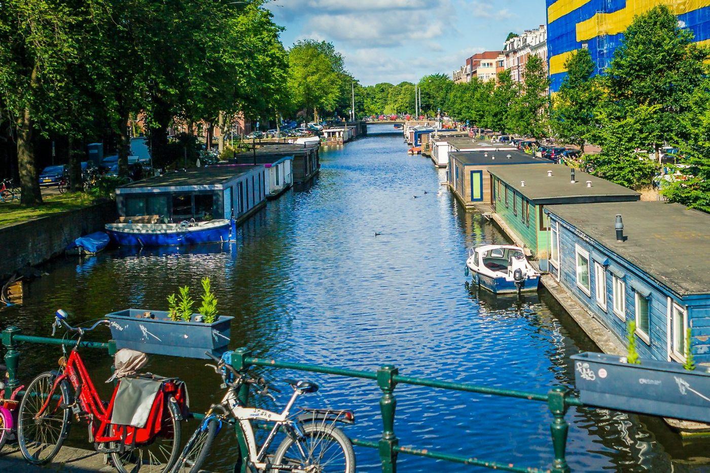 荷兰阿姆斯特丹,穿梭的自行车_图1-11