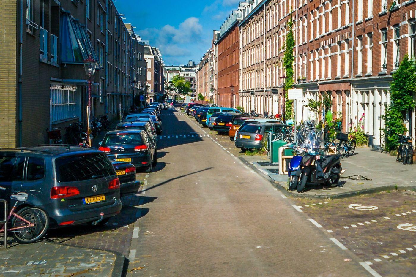 荷兰阿姆斯特丹,穿梭的自行车_图1-10