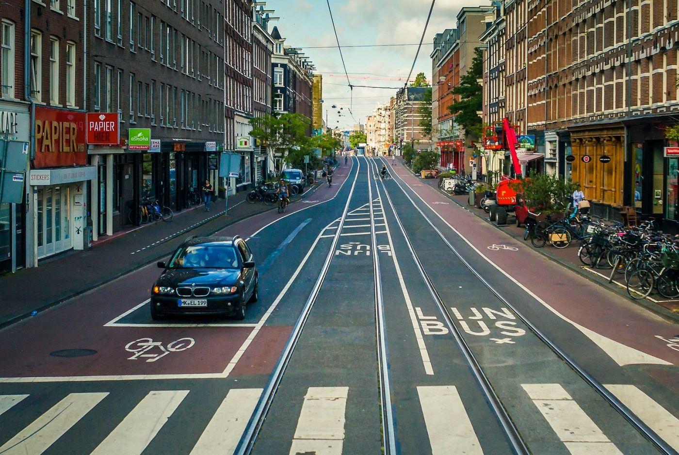 荷兰阿姆斯特丹,穿梭的自行车_图1-5
