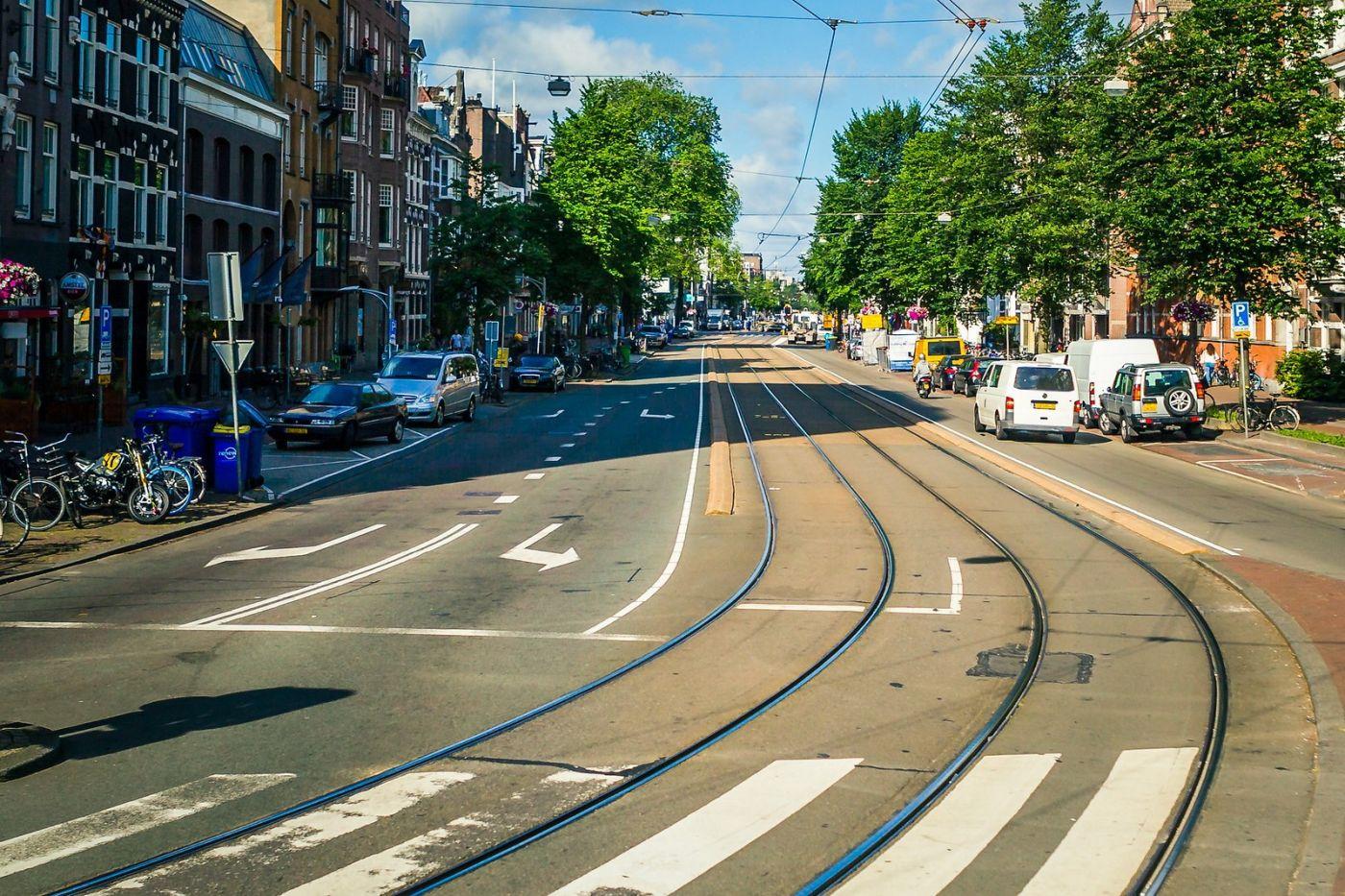 荷兰阿姆斯特丹,穿梭的自行车_图1-4