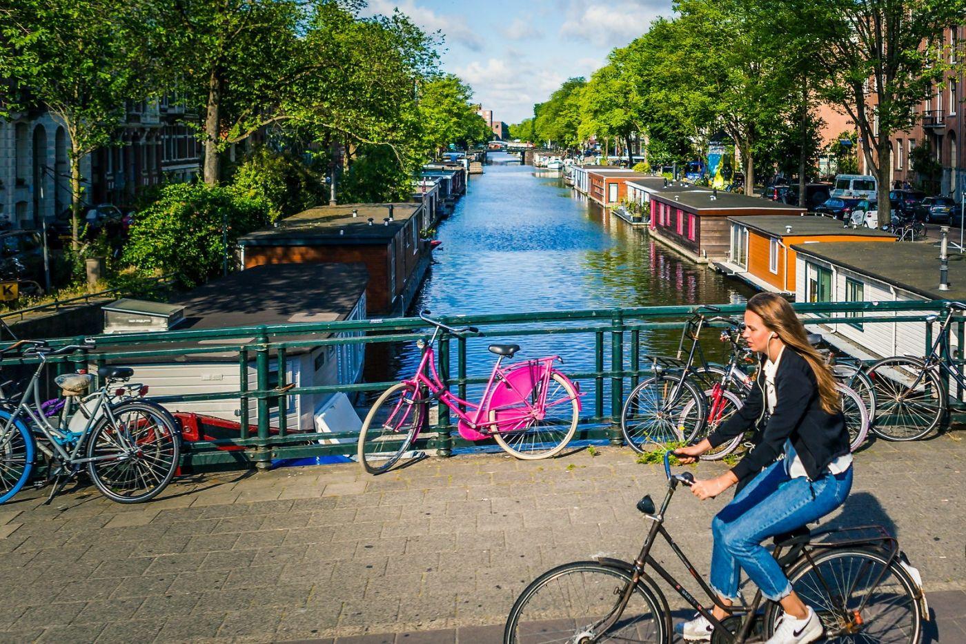 荷兰阿姆斯特丹,穿梭的自行车_图1-1