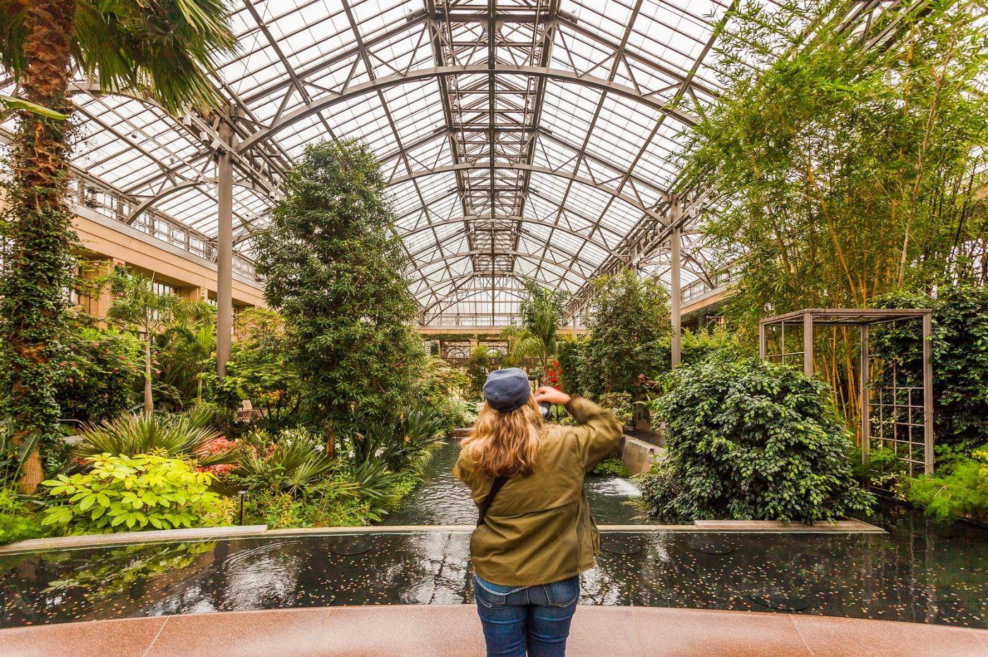 宾州长木公园,室内花园美如画_图1-19
