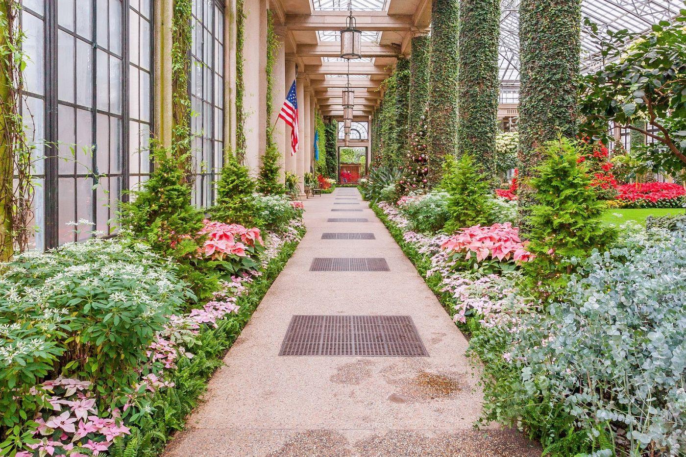 宾州长木公园,室内花园美如画_图1-40