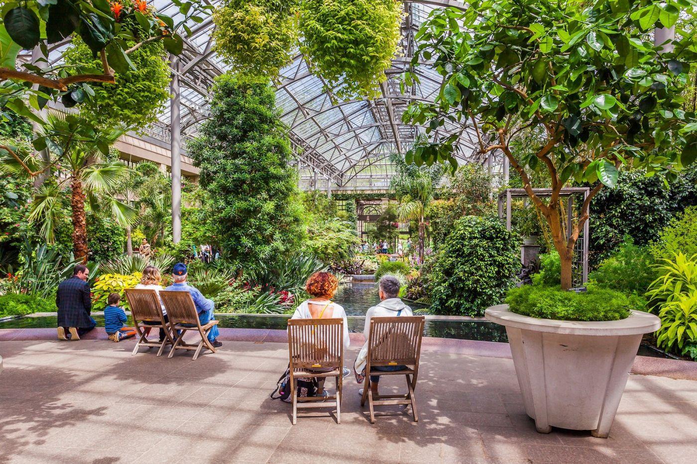 宾州长木公园,室内花园美如画_图1-1