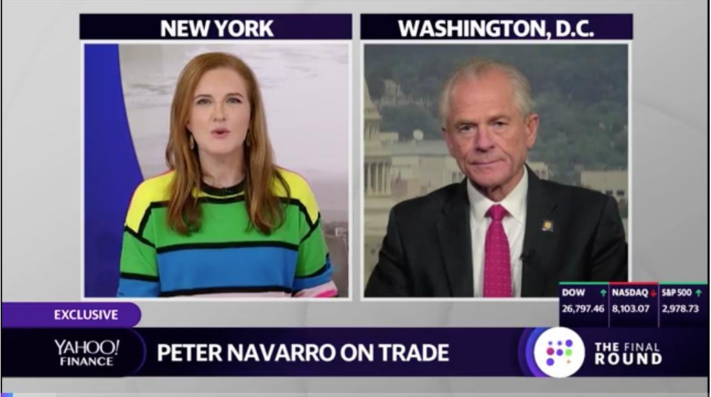 白宫贸易顾问纳瓦罗论十月贸易谈判_图1-1