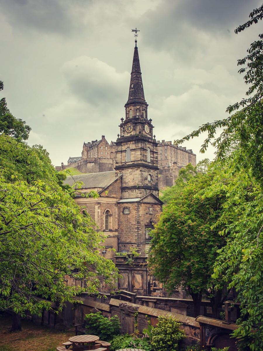 苏格兰爱丁堡,仰头望去_图1-39