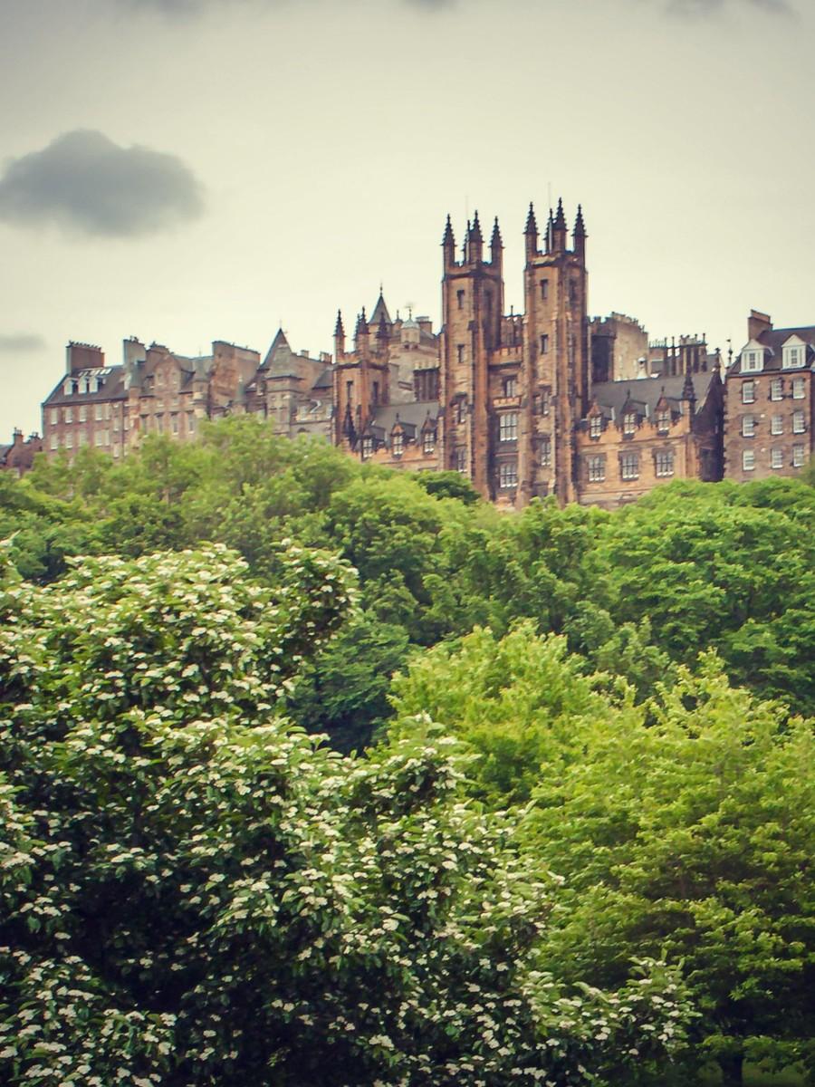 苏格兰爱丁堡,仰头望去_图1-40