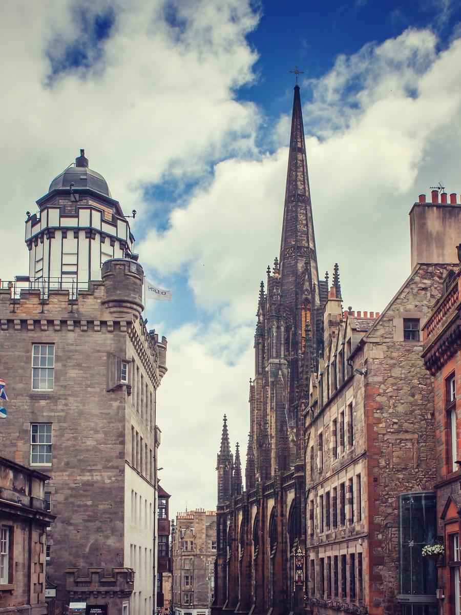 苏格兰爱丁堡,仰头望去_图1-38