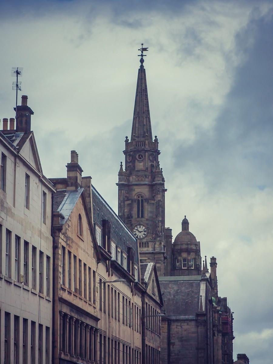 苏格兰爱丁堡,仰头望去_图1-37