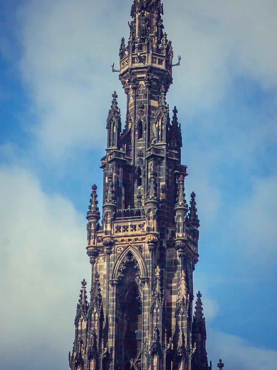 苏格兰爱丁堡,仰头望去_图1-31