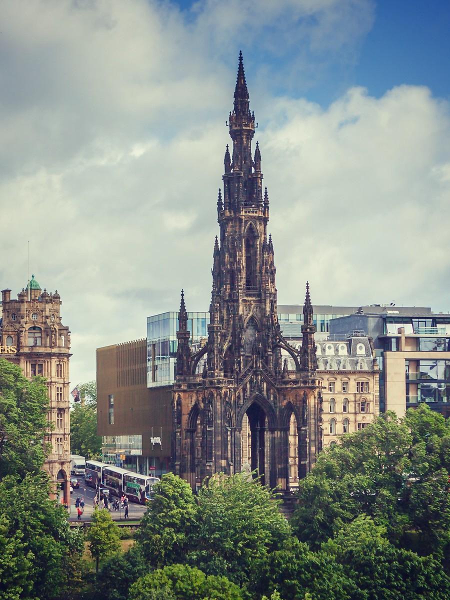 苏格兰爱丁堡,仰头望去_图1-29